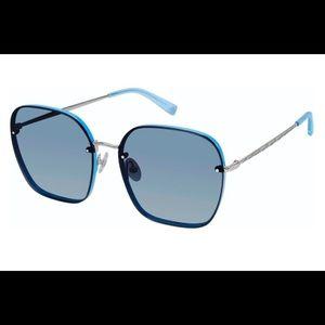 Rebecca Minkoff Gloria 3/S Sunglasses - Blue - Hexagonal Lens